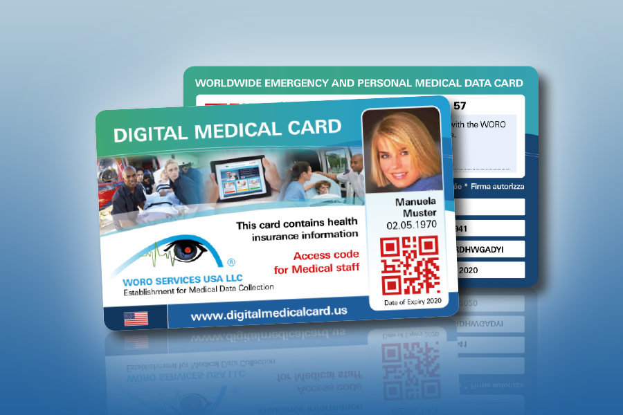 thanks to the digital medical card all your medical data is securely stored and always available for you